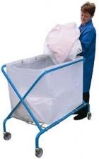 Contico Folding Waste Carts