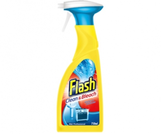 Flash Spray With Bleach
