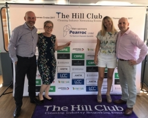 Pearroc Headline Sponsor to the 2017 Hill Club Summer Thames Cruise